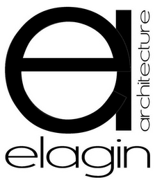 mark for EA ELAGIN ARCHITECTURE, trademark #85832418