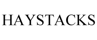 mark for HAYSTACKS, trademark #85832517