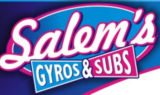 mark for SALEM'S GYROS & SUBS, trademark #85832720