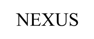mark for NEXUS, trademark #85832789