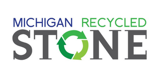 mark for MICHIGAN RECYCLED STONE, trademark #85833557