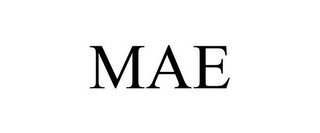 mark for MAE, trademark #85833571