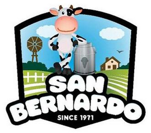 mark for SAN BERNARDO SINCE 1971, trademark #85833656