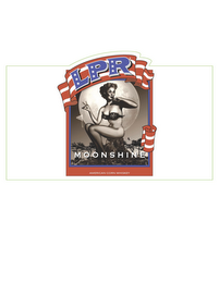 mark for LPR MOONSHINE AMERICAN CORN WHISKEY, trademark #85833677