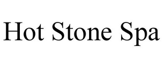 mark for HOT STONE SPA, trademark #85833764