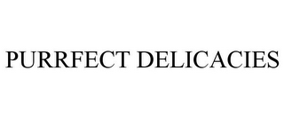 mark for PURRFECT DELICACIES, trademark #85833882