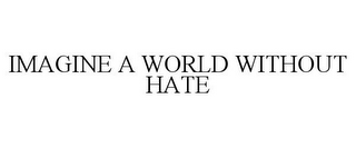 mark for IMAGINE A WORLD WITHOUT HATE, trademark #85834505
