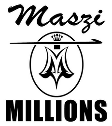mark for MASZI MILLIONS M, trademark #85834699