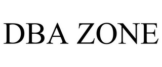 mark for DBA ZONE, trademark #85834850