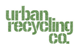 mark for URBAN RECYCLING CO., trademark #85834954