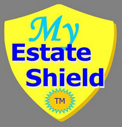mark for MY ESTATE SHIELD, trademark #85835034