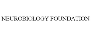 mark for NEUROBIOLOGY FOUNDATION, trademark #85835136