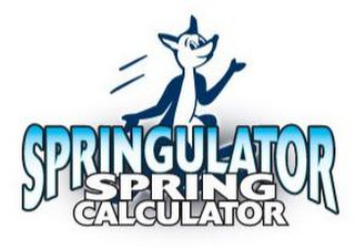 mark for SPRINGULATOR SPRING CALCULATOR, trademark #85835378