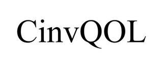 mark for CINVQOL, trademark #85835476