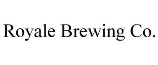 mark for ROYALE BREWING CO., trademark #85835518
