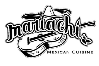 mark for MARIACHI MEXICAN CUISINE, trademark #85835737