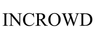 mark for INCROWD, trademark #85835881