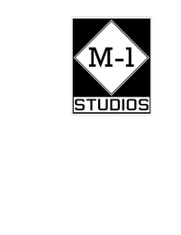 mark for M-1 STUDIOS, trademark #85836087