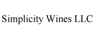 mark for SIMPLICITY WINES LLC, trademark #85836337
