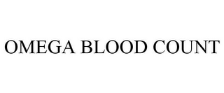 mark for OMEGA BLOOD COUNT, trademark #85836493