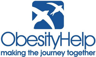 mark for OBESITYHELP MAKING THE JOURNEY TOGETHER, trademark #85836519