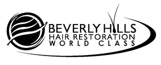 mark for BEVERLY HILLS HAIR RESTORATION WORLD CLASS, trademark #85836647