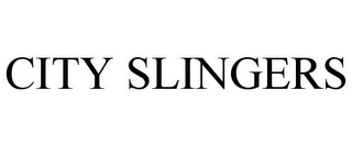 mark for CITY SLINGERS, trademark #85836734