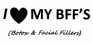 mark for I MY BFF'S (BOTOX & FACIAL FILLERS), trademark #85836876