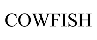 mark for COWFISH, trademark #85837498
