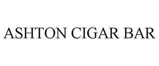 mark for ASHTON CIGAR BAR, trademark #85837814