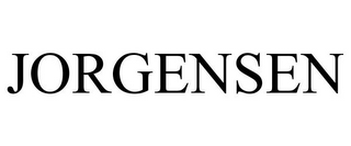 mark for JORGENSEN, trademark #85838779
