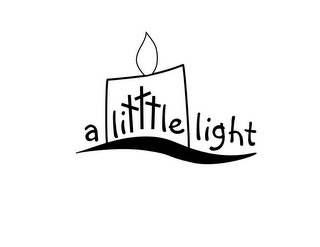 mark for A LITTTLE LIGHT, trademark #85838783