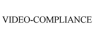 mark for VIDEO-COMPLIANCE, trademark #85838798