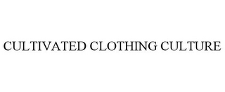 mark for CULTIVATED CLOTHING CULTURE, trademark #85839191