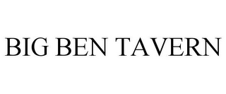 mark for BIG BEN TAVERN, trademark #85839298