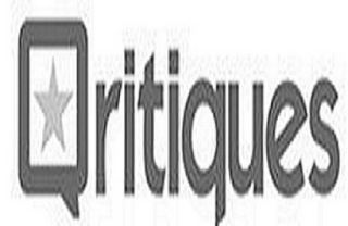 mark for QRITIQUES, trademark #85839370