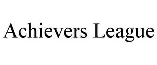 mark for ACHIEVERS LEAGUE, trademark #85839424