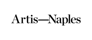 mark for ARTIS-NAPLES, trademark #85839527