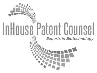 mark for INHOUSE PATENT COUNSEL EXPERTS IN BIOTECHNOLOGY, trademark #85839608