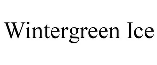 mark for WINTERGREEN ICE, trademark #85839806