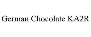 mark for GERMAN CHOCOLATE KA2R, trademark #85839824