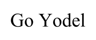 mark for GO YODEL, trademark #85839878