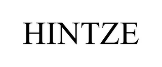 mark for HINTZE, trademark #85840284