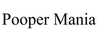 mark for POOPER MANIA, trademark #85840571