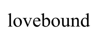 mark for LOVEBOUND, trademark #85840603