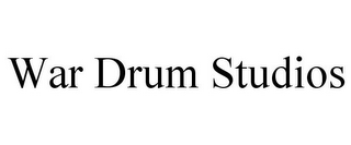 mark for WAR DRUM STUDIOS, trademark #85840731