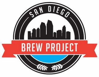 mark for SAN DIEGO BREW PROJECT, trademark #85840785