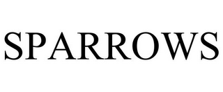 mark for SPARROWS, trademark #85840919