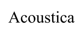 mark for ACOUSTICA, trademark #85841044