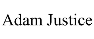 mark for ADAM JUSTICE, trademark #85841552